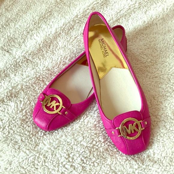 64fb760ad KORS Michael Kors Shoes - Never worn Michael Kors pink size 10 ballet flats